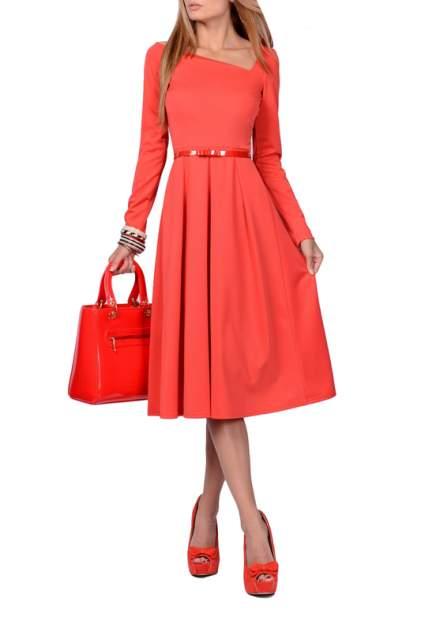 Платье женское FRANCESCA LUCINI F0732-3 красное 42 RU