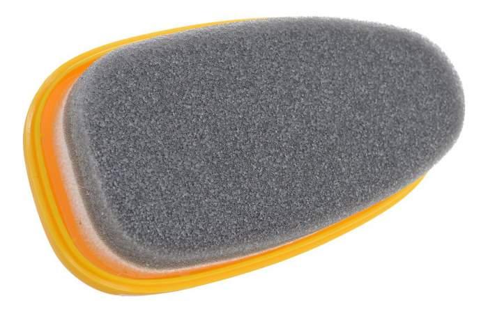 Губка для обуви Salton для гладкой кожи с дозатором бесцветная