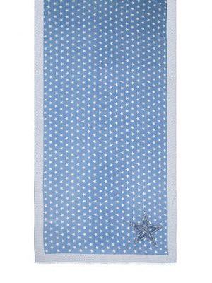 Палантин женский Eleganzza MX12-0942 голубой