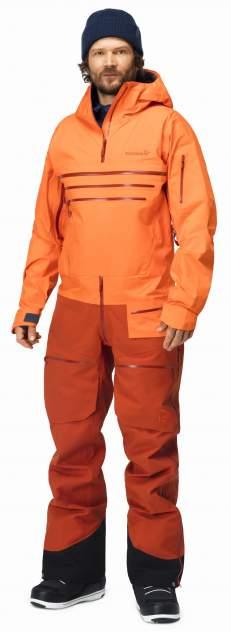 Комбинезон Norrona Lofoten Gore-Tex Pro One-Piece (M/W) темно-оранжевый, M