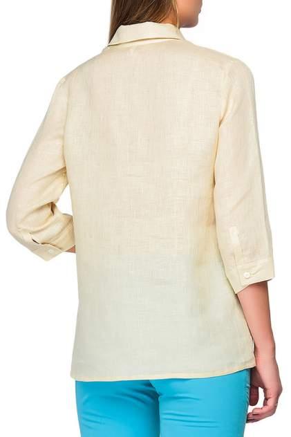Рубашка женская Limonti 723801 бежевая 56 RU