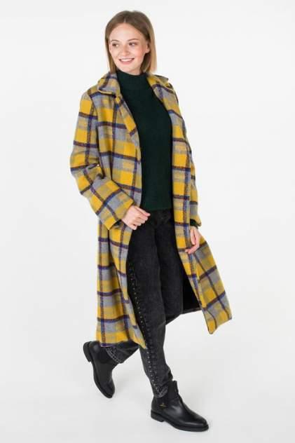 Пальто женское Y.A.S 26012519 коричневое M