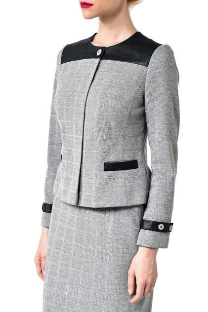 Жакет женский Caterina Leman ZA 0816 серый 42 EU