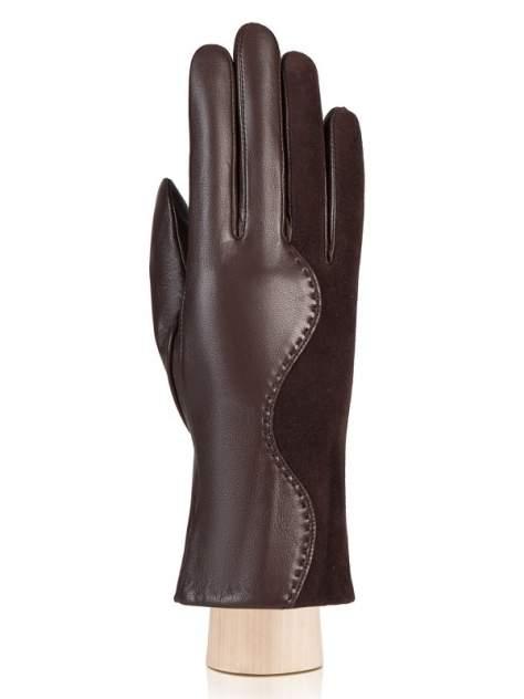 Перчатки женские Eleganzza IS959 коричневые 7.5