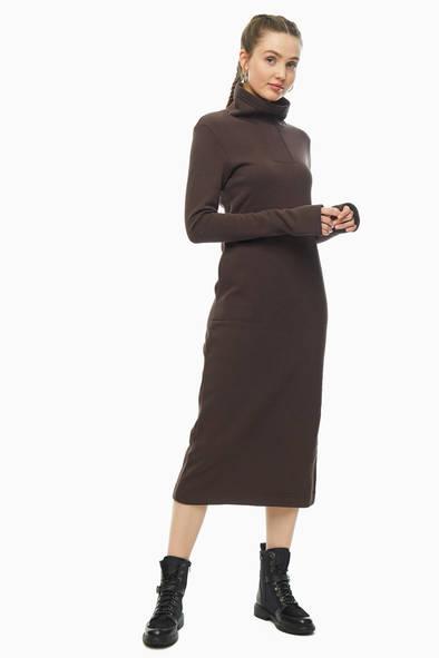 Женское платье The Cave 204302, коричневый
