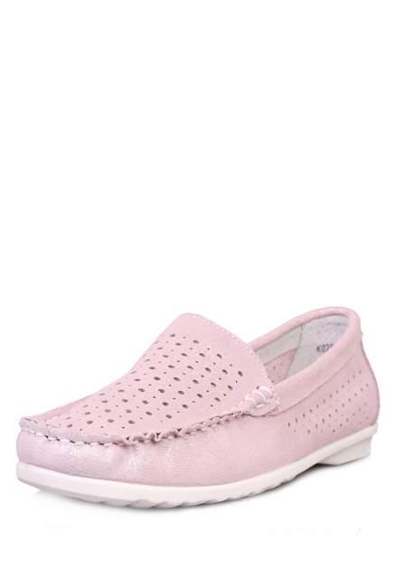 Мокасины женские Alessio Nesca 710017475, розовый