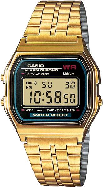 Наручные часы электронные мужские Casio Collection A-159WGEA-1E