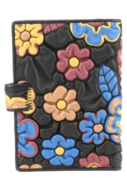 Обложка для автодокументов женская Fiora More 6391C-13 черная