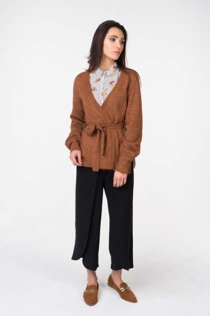 Кардиган женский ICHI 20107471, коричневый