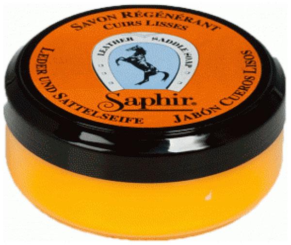 Крем-мыло для обуви Saphir savon regenerant