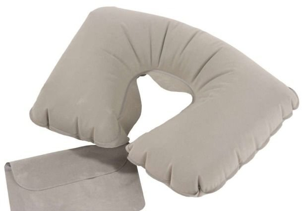 Подушка надувная Fosta F 8052 серая