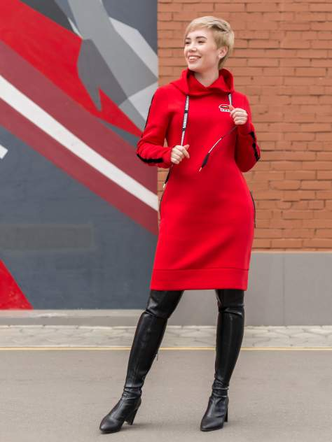 Женское платье BARMARISKA 463007308057, красный