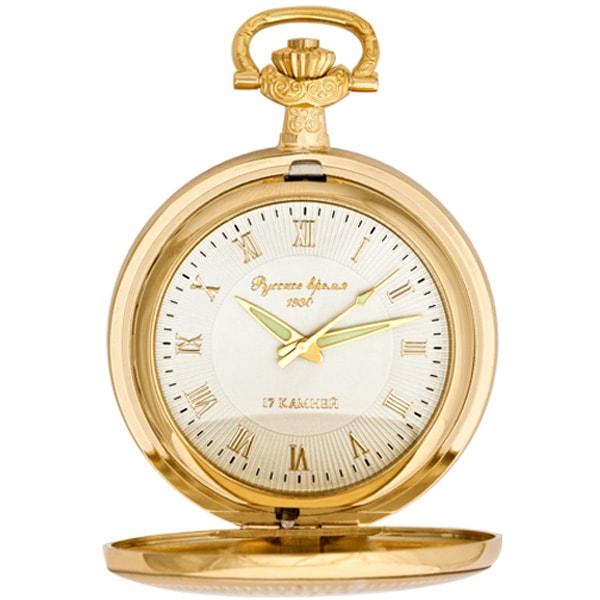 Карманные часы мужские Русское время 2266947 золотистые