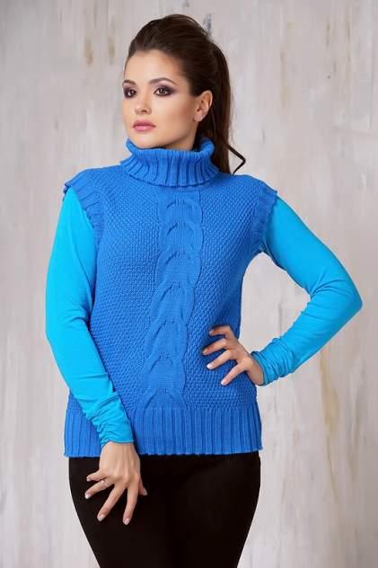 Жилет женский VAY 1475 голубой 42 RU