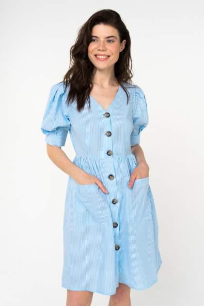 Платье женское Y.A.S 26014219 голубое XS