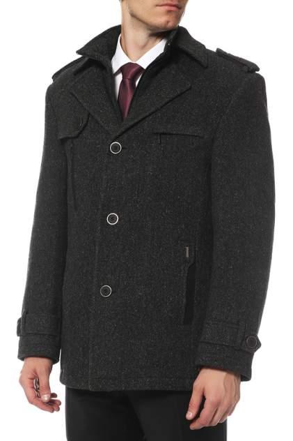 Пальто мужское Caravan Wool А130 серое 48 RU