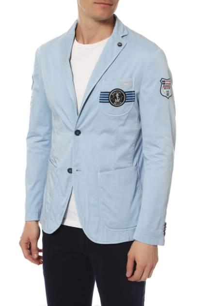 Пиджак мужской harmont & blaine V0205/51956/810 голубой 48 DE