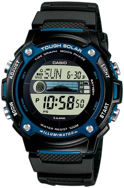 Наручные часы электронные мужские Casio Illuminator Collection W-S210H-1A