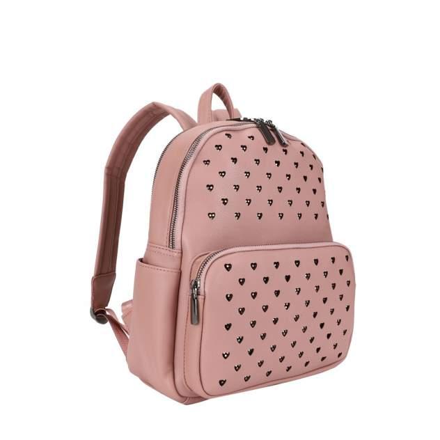 Рюкзак женский OrsOro DW-902 палево-розовый
