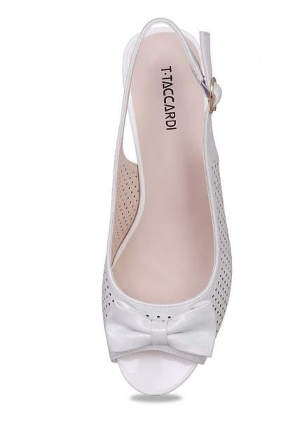 Туфли женские T.Taccardi 018060B0 серебристые 36 RU