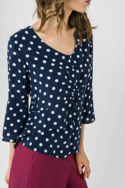 Блуза женская ZARINA 8224088318045 синяя 44 RU