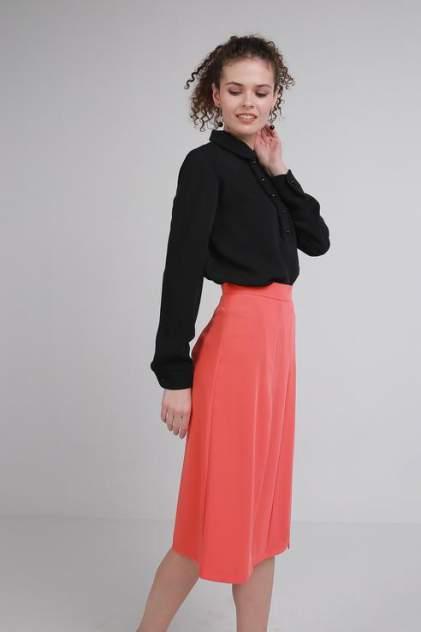 Рубашка женская LA VIDA RICA B61021 черная 48 RU