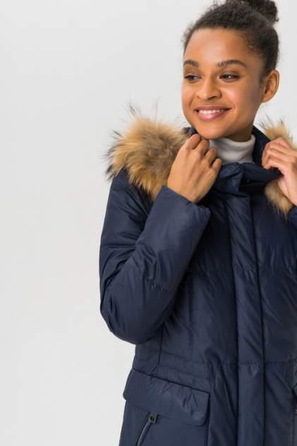 Пуховик-пальто женский Finn Flare A19-11015 синий S