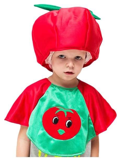 Карнавальный костюм Бока Овощ, цв. красный р.122