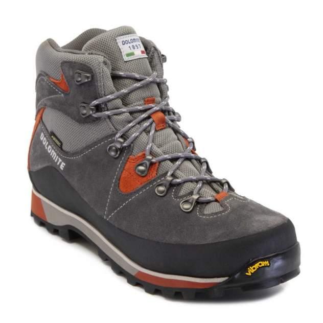 Ботинки Dolomite Zermatt GTX, graphite grey/orchre red, 8.5 UK