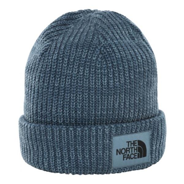 Шапка The North Face Salty Dog Beanie темно-голубая One Size
