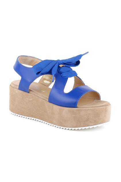 Босоножки женские SITON 7014 синие 37 RU