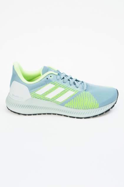 Кроссовки женские Adidas SOLAR BLAZE W голубые 37 RU
