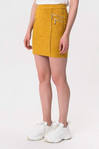 Женская юбка HF 2711, желтый