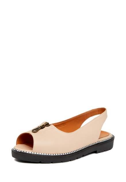 Туфли женские Alessio Nesca 710018262 бежевые 37 RU