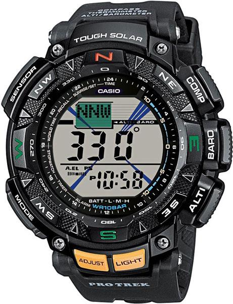 Наручные часы электронные мужские Casio Pro Trek PRG-240-1E