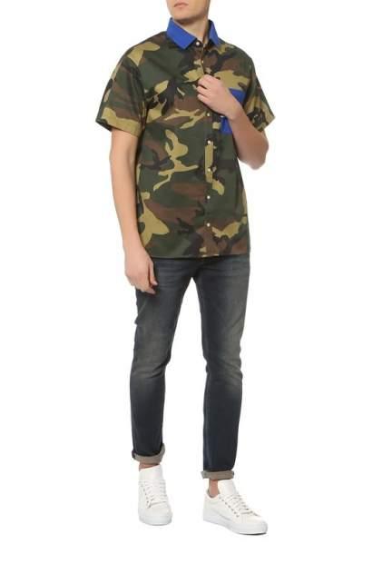 Рубашка мужская Tommy Hilfiger MW0MW06280 902 зеленая M