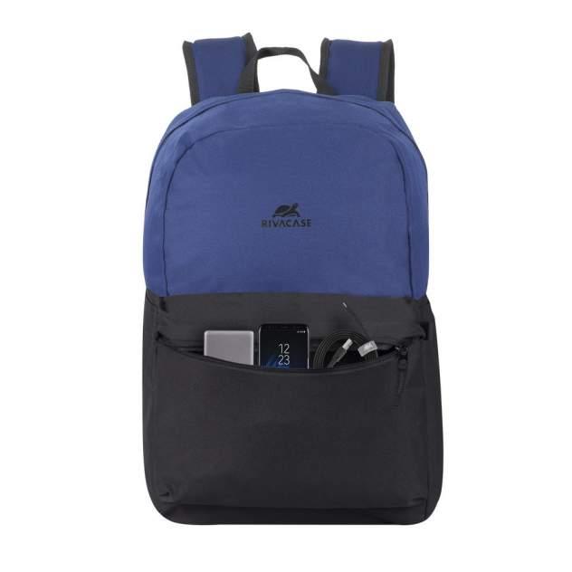 Рюкзак Rivacase 5560 Cobalt Blue/Black 20 л