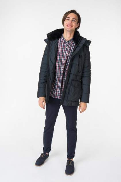 Куртка мужская GEOX M8428X синий 50 IT