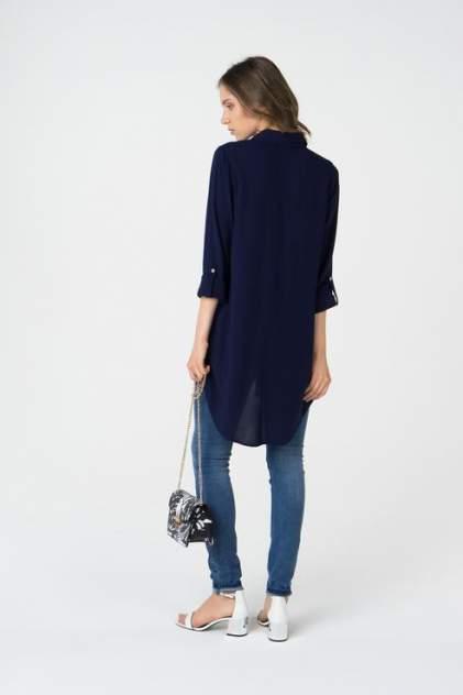 Блуза женская Broadway 10158540 синяя L