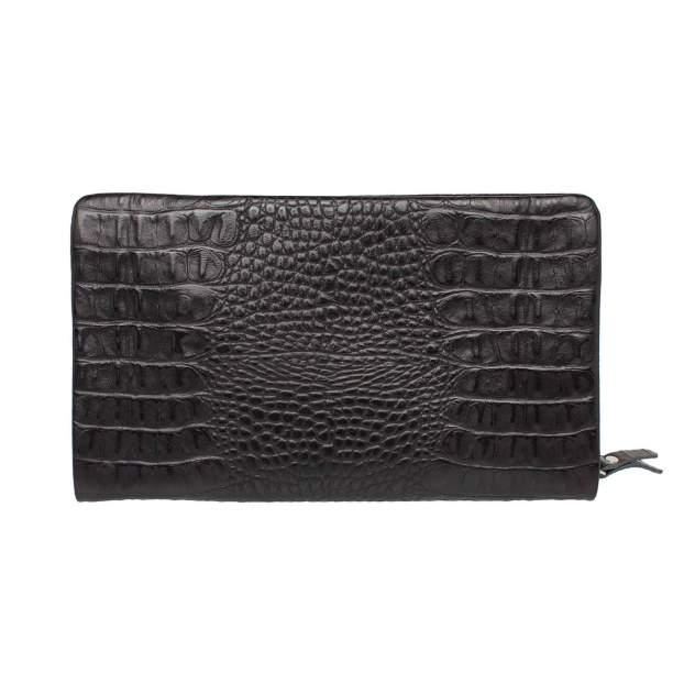 Клатч мужской кожаный Lakestone Crispin 932024/BLC черный
