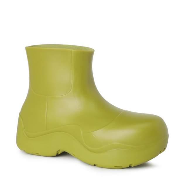 Женские резиновые резиновые сапоги Tendance J2021-01_2764705, зеленый