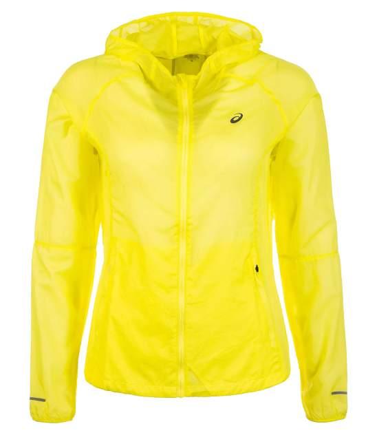 Куртка Asics Women Packable Jacket, yellow, S