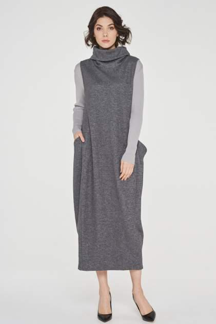Женское платье VAY 182-3458, серый