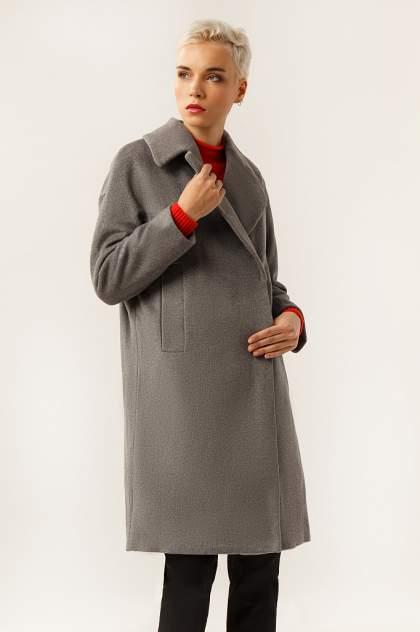 Женское пальто Finn Flare A19-12000, серый