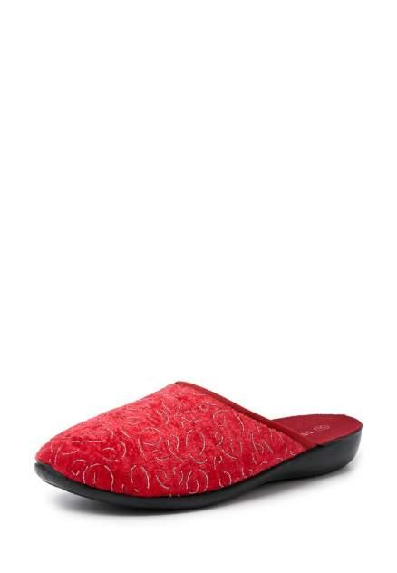 Домашние тапочки женские T.Taccardi 01107340 красные 37 RU