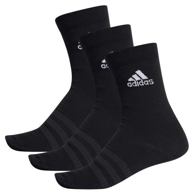 Носки мужские Adidas Crew 3Pk, black, One Size