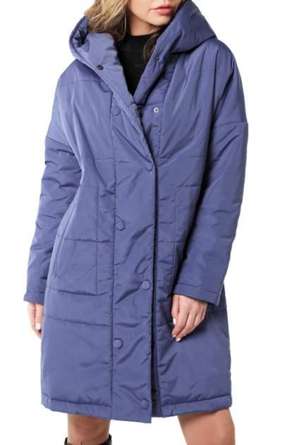 Пуховик-пальто женский DizzyWay 20112 синий 60 RU
