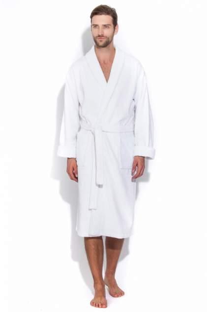 Махровый банный халат Arctic White 363 (унисекс) 363/белый/54-56