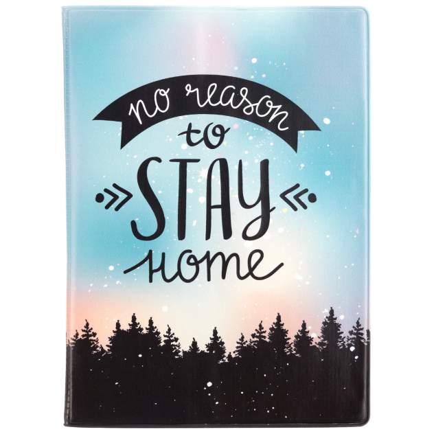 "Обложка для паспорта ""No reason to stay home"""