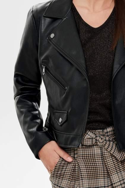 Куртка женская ONLY 15180324 черная 42 EU